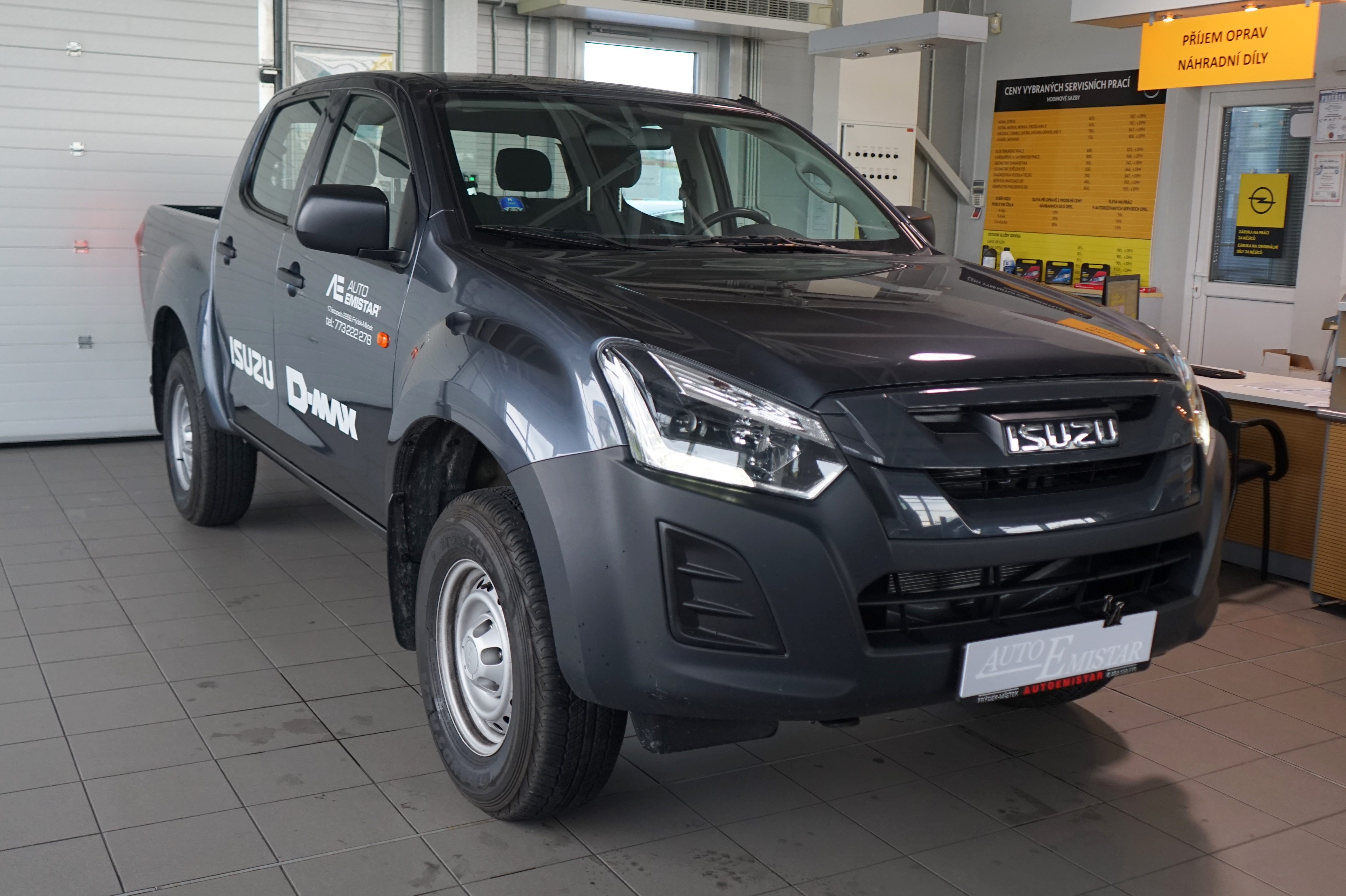 Isuzu D-Max Double Cab Base 4WD 6MT 048
