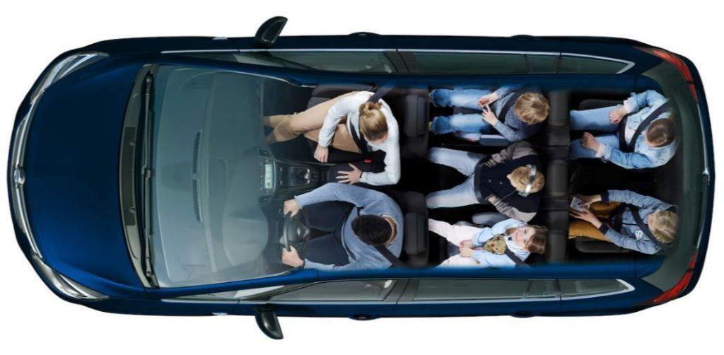 Opel Zafira počet míst