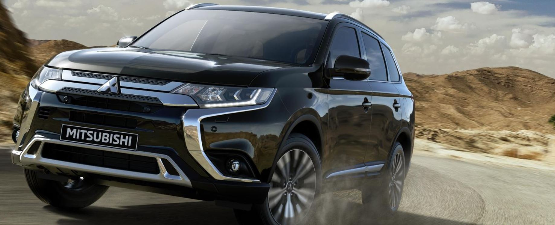 Mitsubishi Outlander using