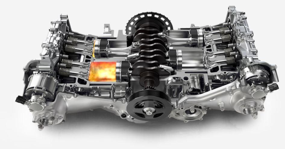 motor subaru outback