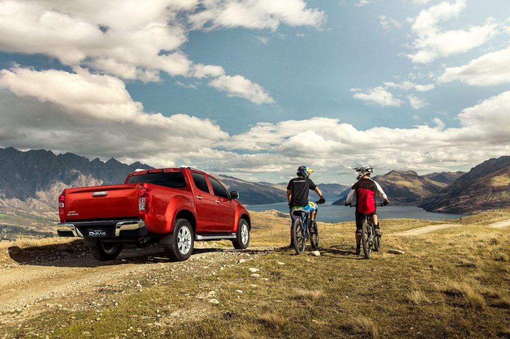 Isuzu d-max je ideální vůz pro dovolené zaměřené na horskou oblast