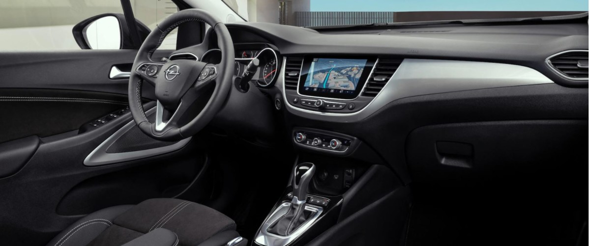 prvky výbavy Opel