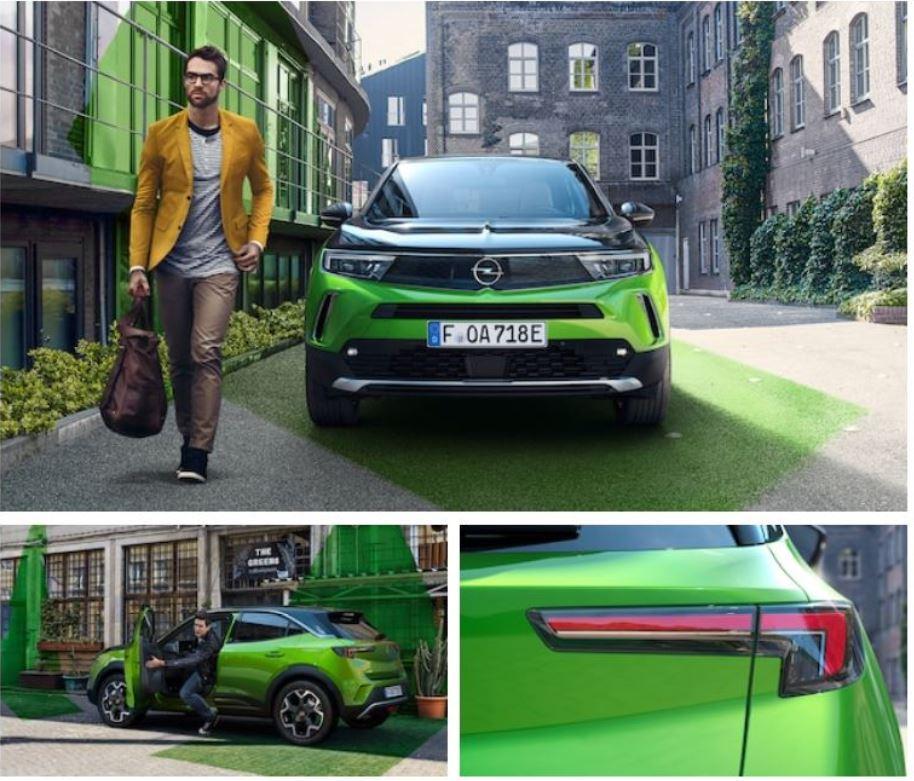 nový elektrický vůz Opel