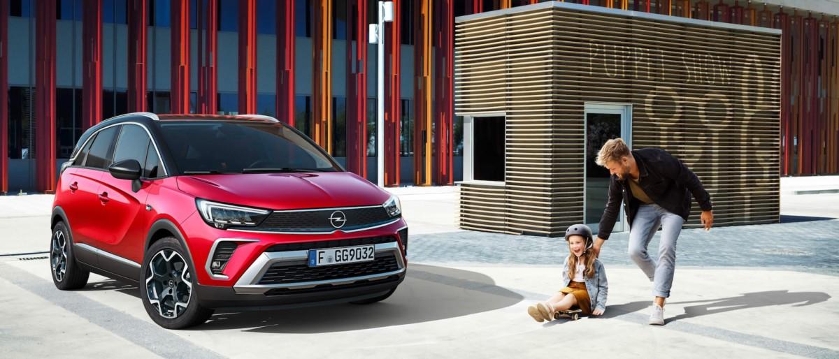 Opel crossland po faceliftu