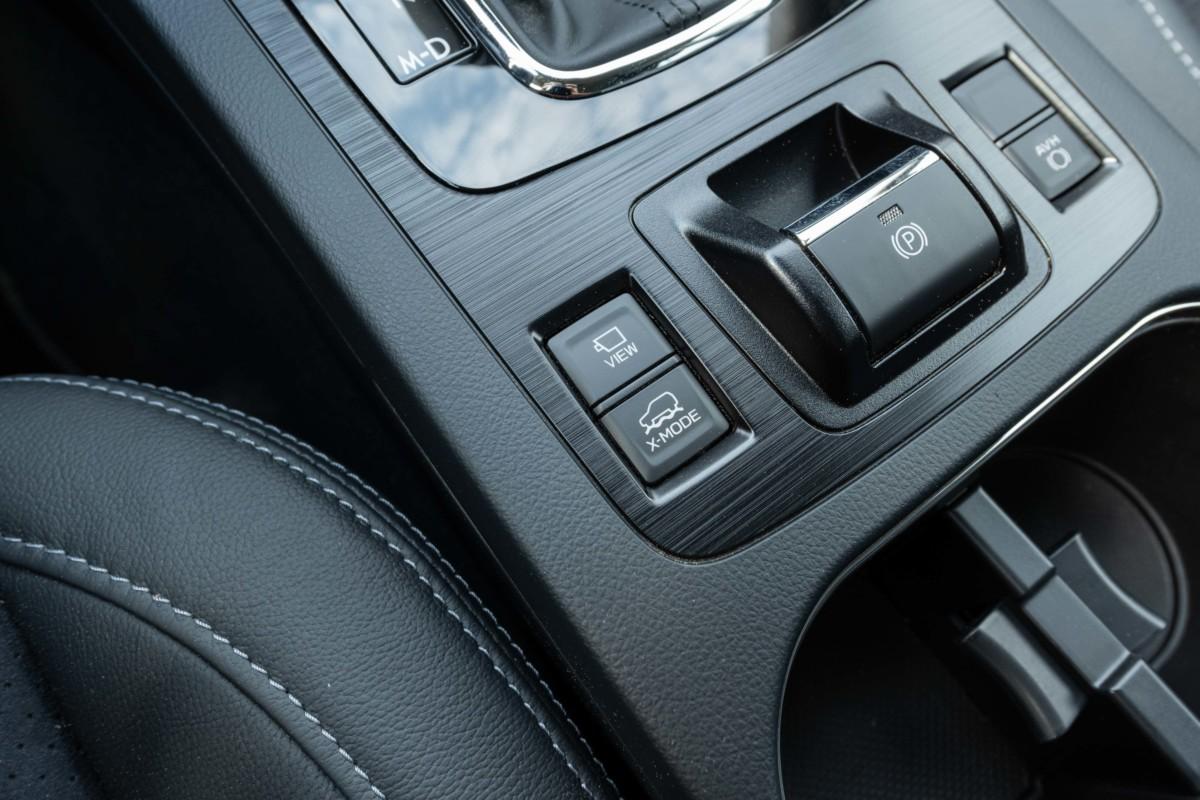 interiér Subaru